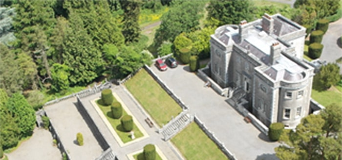 The Belvedere Story aerial view